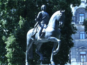 Burggarten: Emperor Franz I.